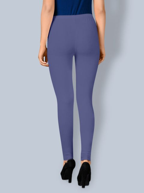 Cotton Chudidar Leggings - Light Navy