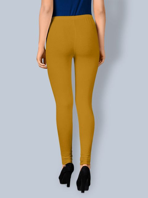 Cotton Chudidar Leggings - Mustered
