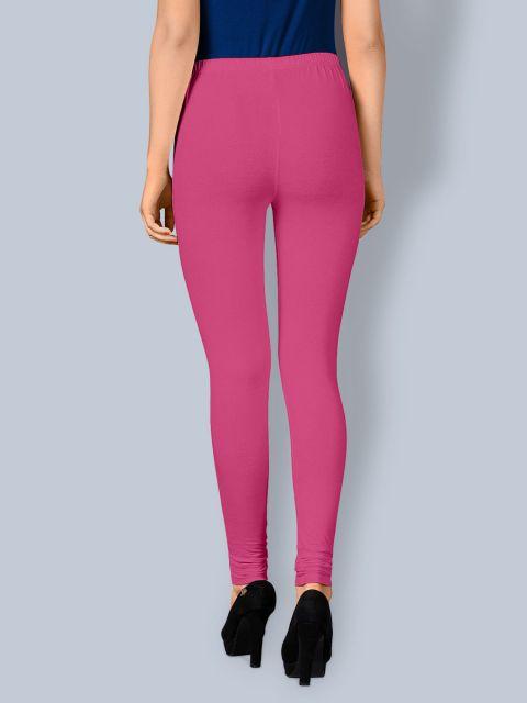 Cotton Chudidar Leggings -Pink Flower