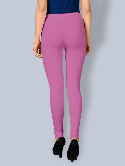 Cotton Chudidar Leggings -Pink Roses