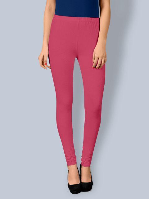 Cotton Chudidar Leggings -Princess Pink